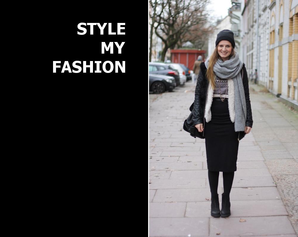 Midirock Midiskirt Style My Fashion