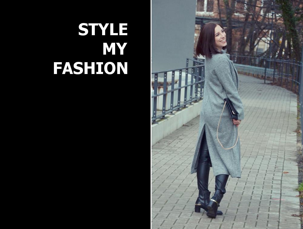 hellgrauer langmantel kombinieren 39 grey longcoat 39 damen mantel grau bilder style my fashion. Black Bedroom Furniture Sets. Home Design Ideas