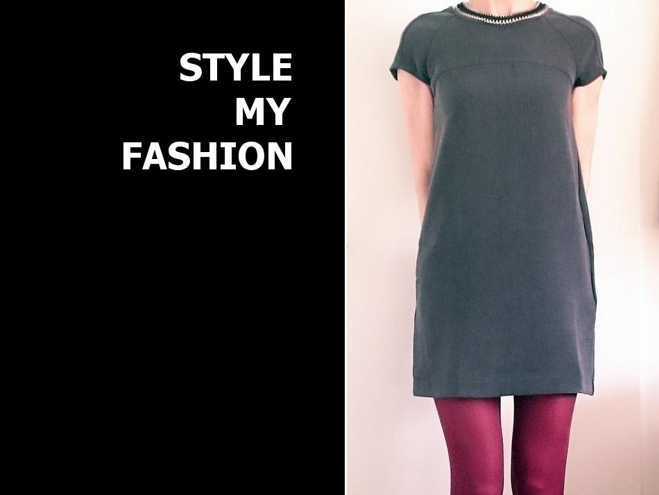 graues klassisches kleid kombinieren 39 shiftkleid von mango 39 damen kleid grau bilder. Black Bedroom Furniture Sets. Home Design Ideas