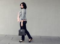 Apricotfarbene Tunika kombinieren: 'Korallfarbene Bluse' (Damen, Bluse, orange, Bilder) | Style my Fashion