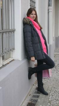 Schal | bright pink sca... | Style my Fashion