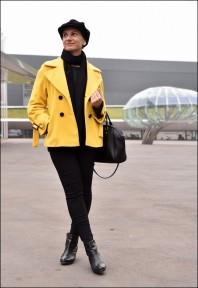 Gelbe Winterjacke kombinieren: 'Jacke ' (Damen, Jacke, gelb, Bilder) | Style my Fashion