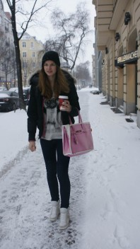 Beanie | white Berlin | Style my Fashion