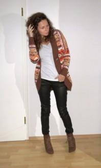 Strickjacke | Strick & Leder | Style my Fashion