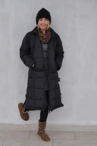 leoprint schal | daunenmantel un... | Style my Fashion