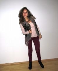 Statement Kette | Bordeaux & Faux... | Style my Fashion