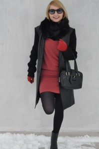 kunstfell | lady in red | Style my Fashion