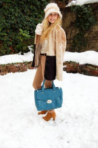 Bag | Beige in snow | Style my Fashion