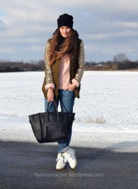 Parka | Sequins for eve... | Style my Fashion