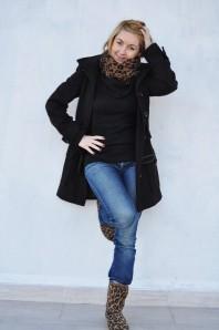 leoprint schal   casual   Style my Fashion