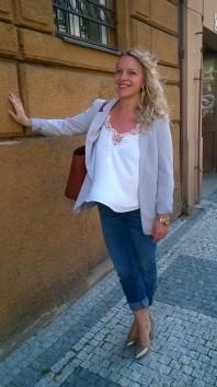 Weiße klassische Bluse kombinieren: 'White Blouse' (Damen, Bluse, weiß, Bilder) | Style my Fashion
