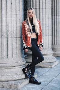 Schwarze Freizeithose kombinieren: 'Schwarze High Waist Hose' (Damen, Hose, schwarz, Bilder) | Style my Fashion