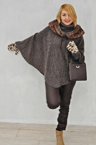 poncho | braun2 | Style my Fashion