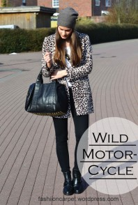 Mantel | Wild Motorcycle | Style my Fashion
