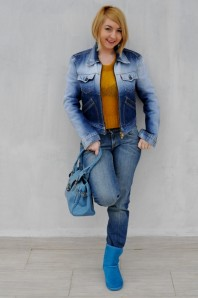 blaue emu | yellow ombre | Style my Fashion