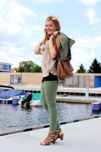 Lookbook Studded Shoulder Denim Blazer | Lookbook Studde... | Style my Fashion