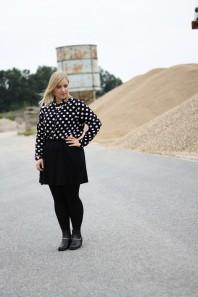 Polka Dot Bluse  | Keep on Walking | Style my Fashion