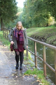 Plateau Boots | Burgundy Dress... | Style my Fashion
