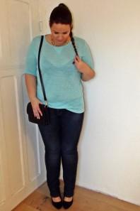 Röhrenjeans | Plus Size Freiz... | Style my Fashion