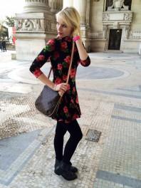 Rollkragenkleid | Roses & Cartier | Style my Fashion