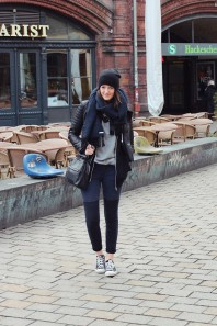 schwarze Chucks | Berlin Fashion... | Style my Fashion