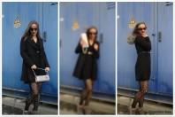 schwarzer Mantel mit Schulterklappen | Pimp my Grunge | Style my Fashion