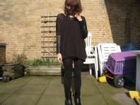 shirt mit lederärmeln | ledershirt und... | Style my Fashion