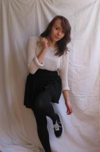 weißer strickpulli | weißer strickpu... | Style my Fashion
