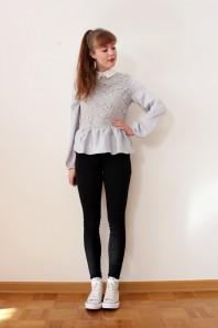 Schwarze Slimfit-Jeans kombinieren: 'Black high waist Jeans' (Damen, Jeans, schwarz, Bilder) | Style my Fashion