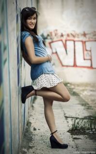 Dunkelblaue Pumps kombinieren: 'Wedges in dunkelblau mit kleiner Schnalle' (Damen, Schuhe, blau, Bilder) | Style my Fashion
