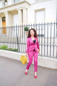 Violetter Blazer kombinieren: 'Anzug' (Damen, Jacke, violett, Bilder) | Style my Fashion