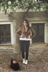 Dunkelbraun/brauner Blazer kombinieren: 'Brit Chic Blazer' (Damen, Jacke, braun, Bilder) | Style my Fashion