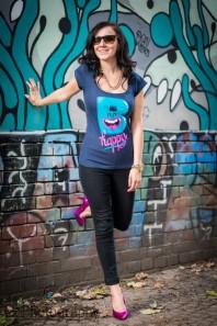 Schwarze Leggings kombinieren: 'Jeggins' (Damen, Hose, schwarz, Bilder) | Style my Fashion