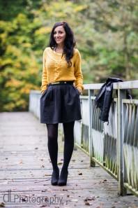 Schwarz/goldener Gürtel kombinieren: 'Gürtel mit goldener Schnalle' (Damen, Gürtel, schwarz, braun, gelb, Bilder) | Style my Fashion
