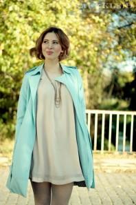 Beiges klassisches Kleid kombinieren: 'Kleid ' (Damen, Kleid, braun, gelb, Bilder) | Style my Fashion