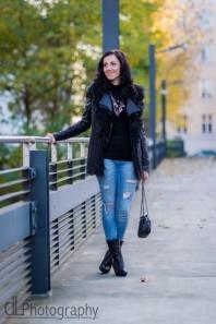 Schwarze Lederjacke kombinieren: 'Schwarze Lederjacke' (Damen, Jacke, schwarz, Bilder) | Style my Fashion