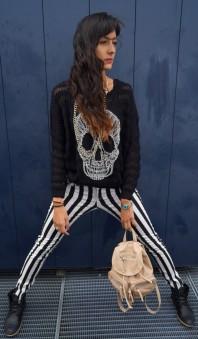 Freizeitrucksack | Black & White  | Style my Fashion