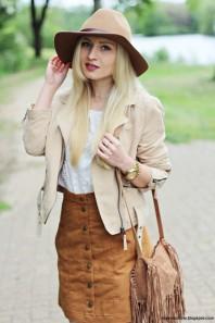 Apricotfarbener Hut kombinieren: 'Wollhut' (Damen, Hut / Mütze, orange, Bilder)   Style my Fashion