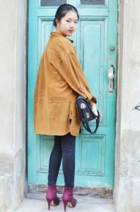 Wildleder Jacke   Berlin Chic   Style my Fashion