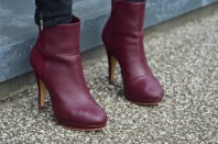 Weinrote Ankle Boots | Berlin Chic | Style my Fashion