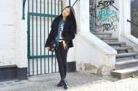 Schwarze Skinny Jeans | Berlin Chic | Style my Fashion