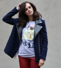 blaue Jacke | Puppy Dog | Style my Fashion