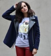 blaue Jacke | Puppy Dog | Style my Fashion