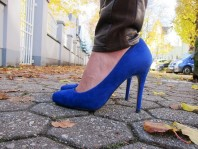 Blue Primark Pumps | Brown Leather &... | Style my Fashion