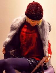 graue Fellweste   Fell und Glitze...   Style my Fashion