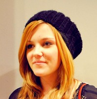 schwarze Strickmütze   Golden Girl   Style my Fashion