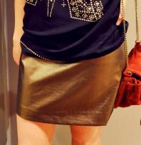 goldener Rock | Golden Girl | Style my Fashion