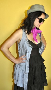 silberne Weste | Stilmix | Style my Fashion