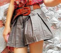 graue Skirt-Schorts | Earth - herbstl... | Style my Fashion