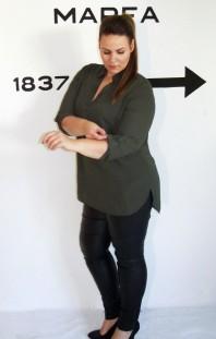 Schwarze Slimfit-Jeans kombinieren: 'Beschichtete Jeans' (Damen, Jeans, schwarz, Bilder) | Style my Fashion